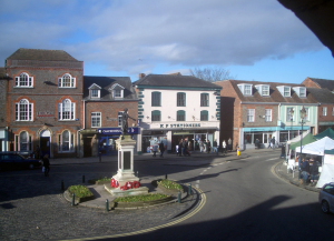 Wallingford War Memorial and Market Placel