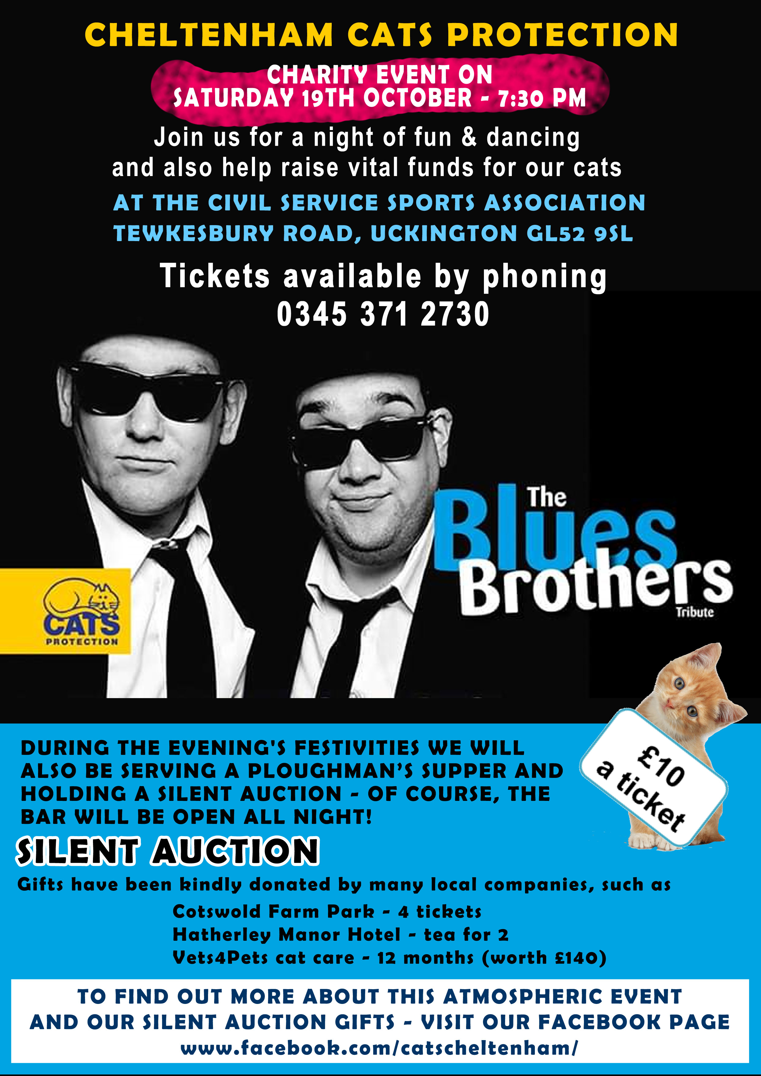 Dance the night away in the company of the Blues Brothers - charity fundraiser